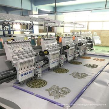 4 головы компьютер машина, услуги вышивки гладью ценам машинная вышивка