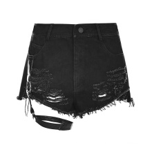 PUNK RAVE Fashion Women Sexy Hot Denim Shorts  Jeans  Short Pants OPK-210 Stylish Design
