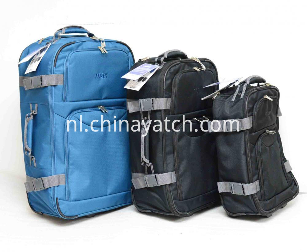 Trolley Bag with Elastic Strip