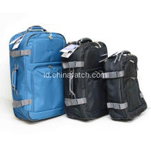 Wheeled Trolley Travel Bag dengan Elastic Strip