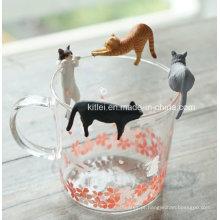 Brinquedos de plástico copo brinquedo lateral decoração