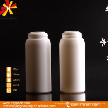 Botella de PE para contenedores de talco