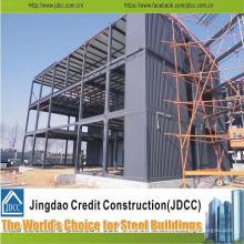Chinesisches professionelles Design geschweißte vorgefertigte Stahlkonstruktion