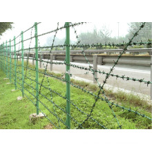 Stacheldraht / verzinkt Stacheldraht Draht / PVC beschichtet Stacheldraht