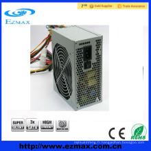 Alimentation 450W ATX PC avec ventilateur doux de 12 cm