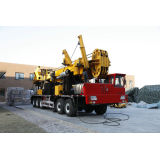 Truck Chassis Mounted Air Drilling Rig For Geothermal Well Cmd100