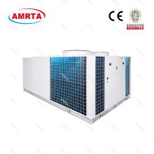 Condicionador de ar do telhado da indústria com bobina da água quente