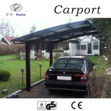 Strong and durable aluminum car parking shade aluminium canopy