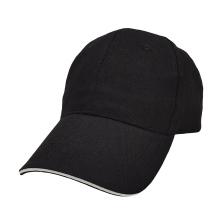 High-end custom hat blank 6-panel custom black baseball caps 3D embroidery printing Custom logo Hats