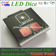 coloré rouge vert bleu LED éclairage MCU contrôle coloré LED dés