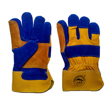 Reinforcement Palm Cut Resistant Protective Riggers Work Gloves for Working