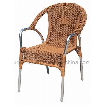 Современный Открытый ресторан металлический стул для кафе с рукояткой (СП-OC438)