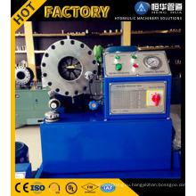 ИСО CE новое состояние Фин Мощность гидравлического шланга Гофрируя машина