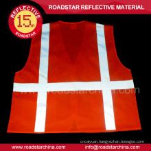 Fluorescence knit reflective security vest