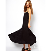 New Arrival High Quality Fashion Casual Swing Maxi Dress for Summer (JK11050)
