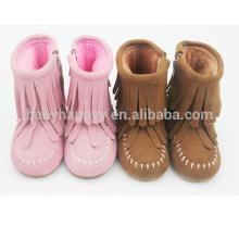 Chaussures de bébé enfant en bambou chaussures chaudes pour enfants et bottes pour enfants en gros