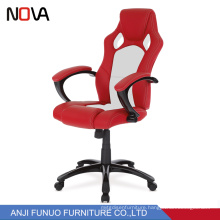 Nova Cyber White Computer Gaming Chair Racing Chair