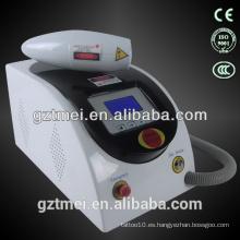 2015 precio de promoción de eliminación de tatuajes láser beuaty máquina