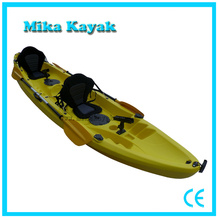 3 Person Fishing Sit on Top Plastic Boat Family Kayak Sale