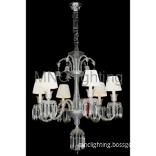 Italy style pendant lamp with K9 crystal,6 lamps