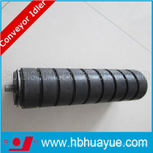 Flat Rubber Coadted Return Conveyor Rollers for Conveyors