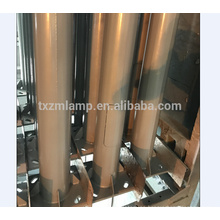 Poste de la lámpara de hierro fundido antiguo de la venta directa de la fábrica de buena calidad