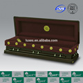 LUXES Superior Handmade Coffins Presiden-Cranes Chinese-Carved Casket