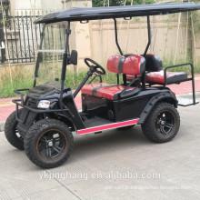 Chariot de golf de voiture de club de frag des USA avec le moteur 4kw powerfull et hors pneu