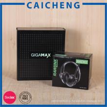 Подгонянная бумажная рифленая коробка упаковывая с печатанием CMYK