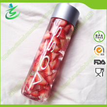 Bouteille de verre à eau de 400 Ml Mineral Voss / Bouteille d'eau Voss / Voss Fruit and Beverage Bottle