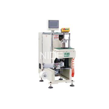 Einfache Arbeitsstation Automatische Stator End Coil Lacing Machine