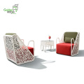 Classic Modular Dining Table and Chair Set