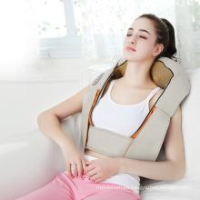 Masajeador de amasamiento infrarrojo del cuello, masajeador portátil del cuello y del hombro del shiatsu del massager del cuello