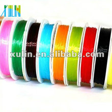 clear transparent beading stretch elastic thread roll ES03