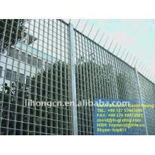 Clôtures de sécurité en acier galvanisé
