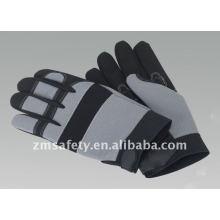 Luvas esportivas acolchoadas com couro sintético ZM896-H