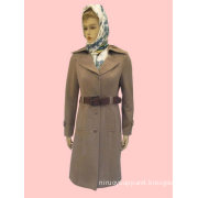 2012 fashion fur coat for women