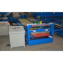corrugated metal roofing coil & forming machine