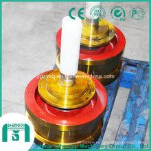 Toda la rueda de la grúa con dia. 315 mm a 1000 mm