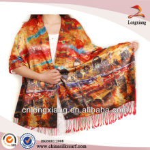 Digital Printed Brushed indian shawl