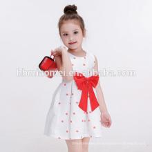 Vestido de la muchacha del niño de la ropa de los nuevos niños de la alta calidad del modelo para el verano