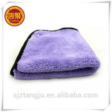 cleaner coral fleece microfiber towel, dual plush towel ,kitchen towel