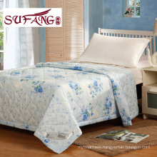 Factory Directly 100-percent cotton printed quilt cheap polyester quilt full Summer quilts