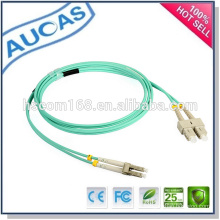Systimax LC SC ST cabo de fibra óptica patch / single multi modo fibra óptica cabo de remendo / simplex cabo de patch duplex óptico /
