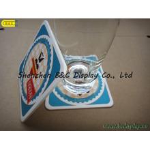 Hohe Qualität absorbierte Papier Coaster 2mm Dicke mit Double Face 4c Druck mit SGS (B & C-G097)
