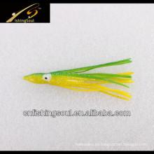 SLL047 Faldas de pulpo Señuelos de pesca de plástico blando