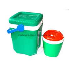 Molde de envase de plástico de basura y basura