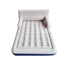 aufblasbare Matratze mit abnehmbarer Rückenlehne