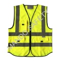 3m Reflective Tape Safety Vest with Pockets