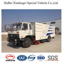 7cbm Dongfeng Euro4 Müll Sauger Kehrmaschine LKW